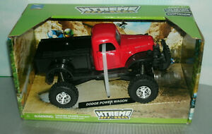 1/32 Scale 1946 Dodge Power Wagon 4x4 Pickup Truck Diecast Toy - New-Ray 54516