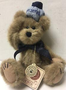 """Boyds Bear Poor Ol Bear #903007 10"""" Feel Better Retired Plush Bear Jointed 1999"""