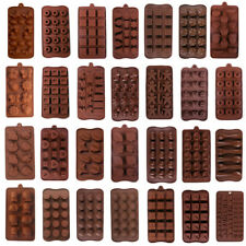 Silicone Chocolate Mold DIY Cake Decorating Mould Candy Cookies Baking Mold