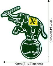 Oakland Athletics  Elephant Sport Patch Logo Embroidery Iron,Sewing on Fabric