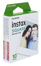 Fujifilm Instax Cuadrado Instantáneo película color - 10 exposiciones