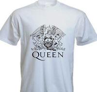 Queen Freddie Mercury Band Classic Logo T SHIRT - FOREVER QUEEN