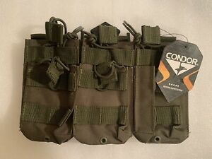 Condor Triple Stacker Mag Pouch- OD Green