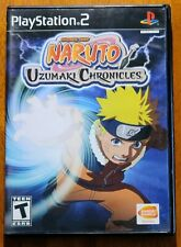 CIB Naruto: Uzumaki Chronicles (Sony PlayStation 2 PS2, 2006) COMPLETE IN BOX