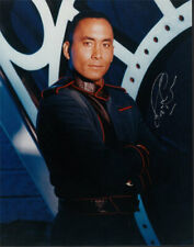 Richard Biggs Signed/Autographed Babylon 5 Promo 8x10 Photo Dr Franklin Sci-Fi