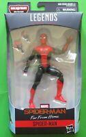 Marvel Legends Spider-man Far From Home Red/Black Tech Suit MOLTEN MAN BAF - NEW
