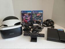 Sony PlayStation VR PSVR Bundle! Headset + Camera + 2 Games - FREE SHIPPING!