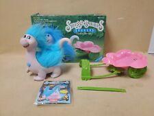 Vintage Playskool Snugglebumms Tuggles The Dinosaur W/ Flower Cart & Box 1985