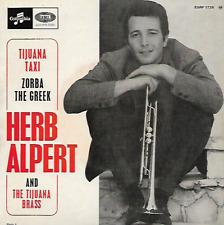 """HERB ALPERT - Tijuana Taxi - 7"""" - EP - Columbia-EMI - ESRF 1728 - FR"""