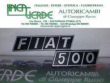 LOGO - SIGLA FIAT 500