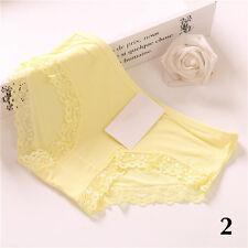 New Women Girl Lace Soft Underpants Underwear Knickers Cotton Panties Briefs