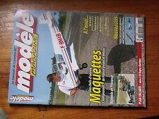 $$3 Revue modele magazine N°672 Plan encarte F-22 Raptor  Yak 54  Skystar  Me109