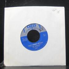 """Lee Andrews - Long Lonely Nights / The Clock 7"""" VG+ 1665 Vinyl 45 Chess 1957"""
