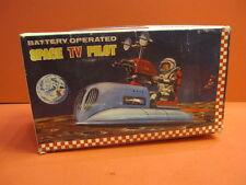 ALL ORIGINAL ASAKUSA BOX ONLY SPACE TV PILOT BATTERY OPERATED 1960