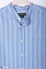 Eddie Bauer Men Manga Larga Regular Fit Camisa Informal Azul Talla L a rayas