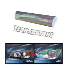 1x Transparent Chameleon Car Headlight Tail Light Cover Tint Film Sticker Change