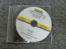 New Holland 18HB 21HB 25HB 30HB 36HB Draper Header Owner Operator Manual CD