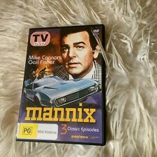 MANNIX DVD. MIKE CONNORS/ GAIL FISHER DVD. ALL REGIONS
