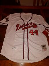 Hank Aaron XL Atlanta Braves Jersey