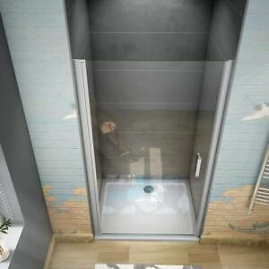 185 cm Box doccia per Nicchia Porta Battente Cristallo Temperato 5 mm