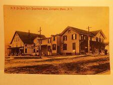 A.P DuBois Co Department store Livingston Manor NY Sullivan Catskills Postcard