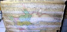 Ancienne carte de l'Empire Ottoman Dimensions : 104 x 72 cm