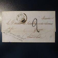 """LETTRE COVER CAD T. 14 MACON (70) 20 NOV 1849 POUR EPINAC """"LE RECEVEUR GÉNÉRAL"""""""