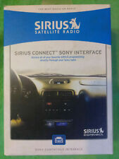 Sirius Connect Sony SNYSC1 SATELLITE  RADIO INTERFACE FOR USE WITH SC-C1 SCC1