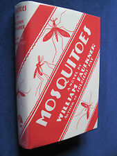 MOSQUITOES by WILLIAM FAULKNER 1st Edition 1st Printing in Facsimile Dust Jacket