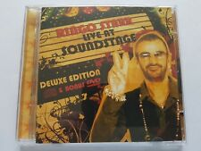 RINGO STARR LIVE AT SOUNDSTAGE DELUXE EDITION  CD / DVD  Beatles