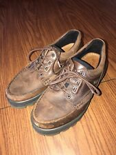 """ECCO Men's """"Track 2 Low"""" Goretex Brown Leather Hiking Shoes Size 41"""