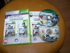 GHOST RECON FUTURE SOLDIER + ADVANCED WARFIGHTER 2 - VF -   XBOX 360