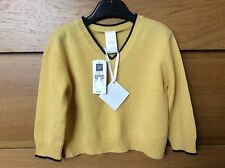 New With Tags Gap Baby 100% Cashmere V Neck Jumper 3-6 Months £98 **BABY GIFT**