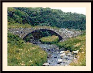 Latheronwheel Old Bridge, Cross Stitch Kit