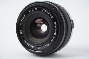 Olympus Zuiko 28mm 1:3.5 (Olympus OM mount)