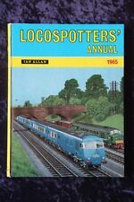Ian Allan - Locospotters Annual 1965 trains engines locomotives end of steam era
