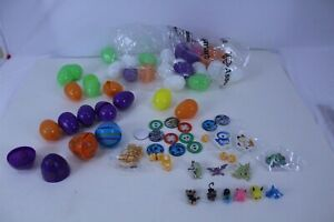 36 Pokemon Easter Egg Stuffers with Eggs Included Figures Dice Assorted Colors