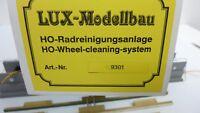 Lux Modellbau H0 9301 Radreinigungsanlage Einbaugerät in OVP  (RB2448)