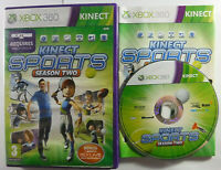 Kinect Sports Season 2 Xbox 360 MINT DISC