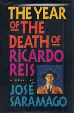 "JOSE SARAMAGO ""The Year of the Death of Ricardo Reis"" SIGNED First Edition NOBEL"