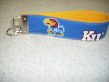 Key Ring Fob - University of Kansas - Wristlet Style - Show Team Support! - NEW