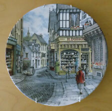Royal Doulton Window Shopping Collector Plate Series The Bakers Shop & Paperwork