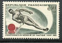 STAMP / TIMBRE FRANCE NEUF LUXE °° N° 1395 ** SKI A VICHY CHAMPIONNATS DU MONDE