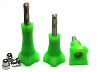 Thumb Knob Bold/Screw f. GoPro Go Pro HD HERO 1,2,3 Zubehör Schraube Green