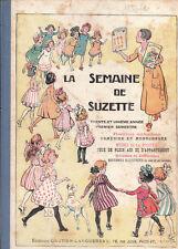 La Semaine de Suzette Album éditeur 1935 1er semestre