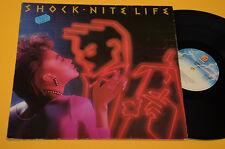 SHOCK LP NITE LIFE ORIG GERMANY 1983 OTTIME CONDIZIONI