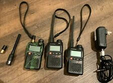 BAOFENG UV-3R Walkie Talkie SET OF 3 With Extras