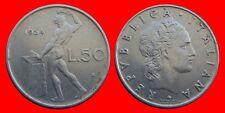 50 LIRAS 1954 ITALIA-18796