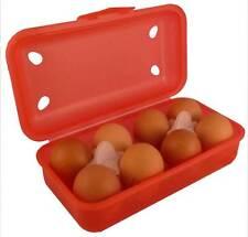 Mehrweg Eierschachtel, Eierkarton, Eierbox, Eierverpackung, Farbe: Rot