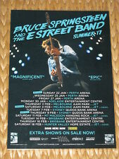 BRUCE SPRINGSTEEN - 2017 Australian Tour Poster - Laminated - ALL DATES!